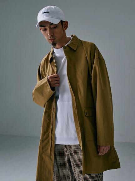 【メーカー公式】【SEVENDAYS=SUNDAY】《Men》SIERRA ステンカラーコート セブンデイズサンデイ ファッション 秋冬 オシャレ 大人 カジュアル オフィス きれいめ 流行り