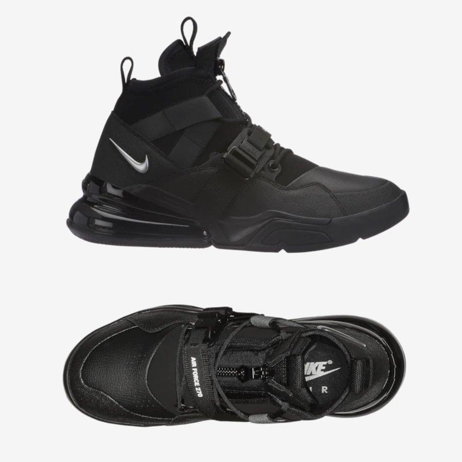 お取り寄せのため2-3週間前後の納期となります ナイキ Nike メンズ スニーカー Air Force 270 Utility エアフォース ユーティリティー Q0572002 ブラック・シルバー