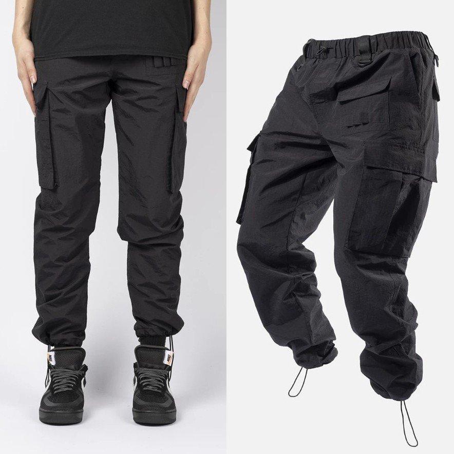 お取り寄せのため2-3週間前後の納期となります BLACKTAILOR 評価 ブラックテイラー パンツ 出色 カーゴパンツ メンズ CARGO ブラック 黒 BLACK ナイロン N1