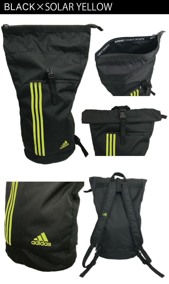 a7622c2549a0 ... Adidas rucksack backpack schoolbag black adidas Lady's men lap bag club  activities athletic club junior high ...