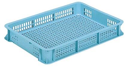 超人気 メッシュコンテナー ボックス 保管 配送容器 メッシュ収納ボックス ケースB#18≪外寸:628x438x86mm≫ アウトレットセール 特集