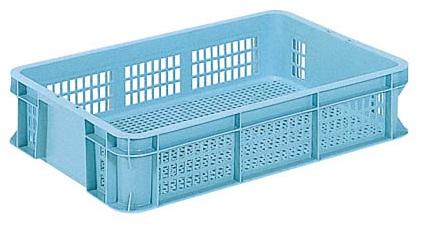 メッシュコンテナー 特売 まとめ買い特価 ボックス 保管 メッシュ収納ボックス ケースB#18-4≪外寸:628x439x136mm≫ 配送容器