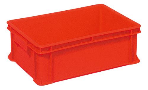 今だけ限定15%OFFクーポン発行中 受賞店 全面ベタ目の多目的収納箱 積み重ねのできる収納箱 赤い箱 不良品を入れる箱 収納ケース#36B≪外寸:504x341x168mm≫ 収納ボックス