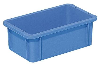 全面ベタ目の多目的収納箱 積み重ねのできる収納箱 ブランド買うならブランドオフ 収納ケース#3S≪外寸:267x164x95mm≫ 豊富な品 収納ボックス
