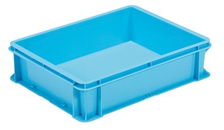 全面ベタ目の多目的通箱 保障 積み重ねのできる箱 収納ケース#24-2C≪外寸:445x344x114mm≫ 定番の人気シリーズPOINT(ポイント)入荷 収納ボックス