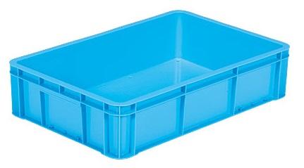 全面ベタ目の多目的収納箱 プレゼント 積み重ねのできる収納箱 収納ケース#38-3≪外寸:682x449x155mm≫ マーケティング 収納ボックス