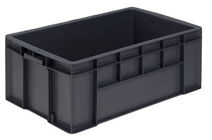 激安 激安特価 送料無料 全面ベタ目の多目的収納箱 積み重ねのできる収納箱 収納ボックス 収納ケース テンバコ43≪外寸:628x373x242mm≫ 即日出荷