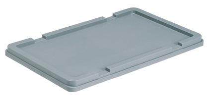 有名な 全面ベタ目の多目的収納箱 倉 積み重ねのできる収納箱 収納ケース#22用蓋≪外寸:630x390x37mm≫ 収納ボックス