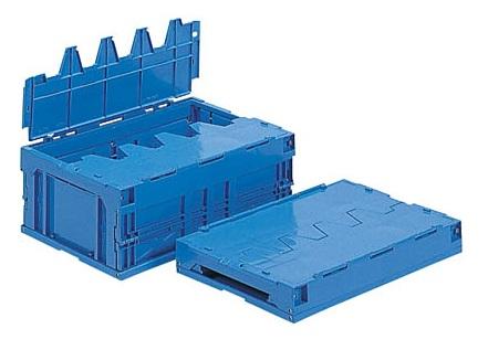 箱 物入れ プラスチック 収納 ケース 折りたたみ収納ケース 超目玉 保管 サンクレットオリコン30B≪外寸:538x366x218mm≫ 公式 配送容器 折りたたみ収納ボックス