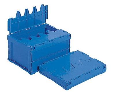 箱 物入れ プラスチック 収納 ケース 日本正規品 保管 配送容器 折りたたみ収納ケース 贈呈 サンクレットオリコン25B≪外寸:445x329x243mm≫ 折りたたみ収納ボックス