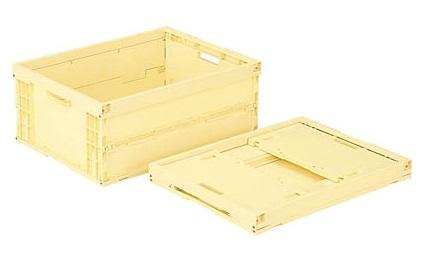 箱 宅配便送料無料 物入れ プラスチック 収納 定番から日本未入荷 ケース 保管 オリコン463B≪外寸:670x503x288mm≫ 折りたたみ収納ケース 折りたたみ収納ボックス 配送容器