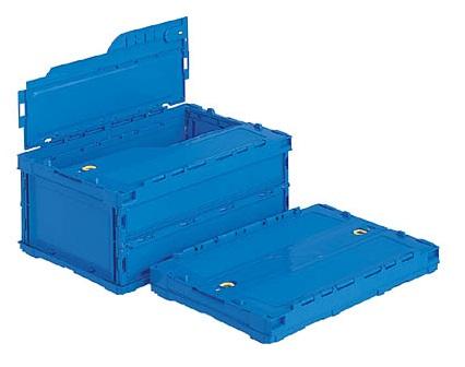 箱 物入れ プラスチック 収納 ケース ペタンコC-30B≪外寸:530x366x232mm≫ 配送容器 卓越 定価 折りたたみ収納ボックス 折りたたみ収納ケース 保管