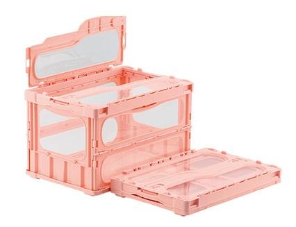 箱 物入れ プラスチック 収納 ケース 折りたたみ収納ケース 折りたたみ収納ボックス 人気 マドコンライトC-50B≪外寸:530x366x336mm≫ 保管 出色 配送容器