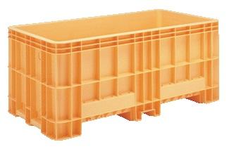 超大型コンテナ・超大型プラスチック箱 ジャンボックス#1200≪外寸:1990x1050x848mm≫