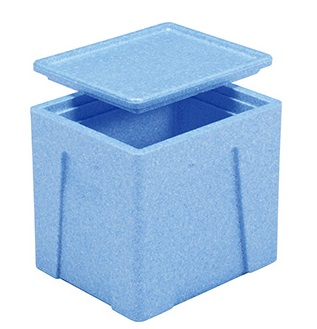 保冷 冷蔵 保温 食品 飲料 軽量 当店限定販売 年中無休 持ち運び 軽量保冷収納ボックス レジャー EPボックス#24-2 軽量保冷収納ケース ≪外寸:392x322x368mm≫ 蓋付き