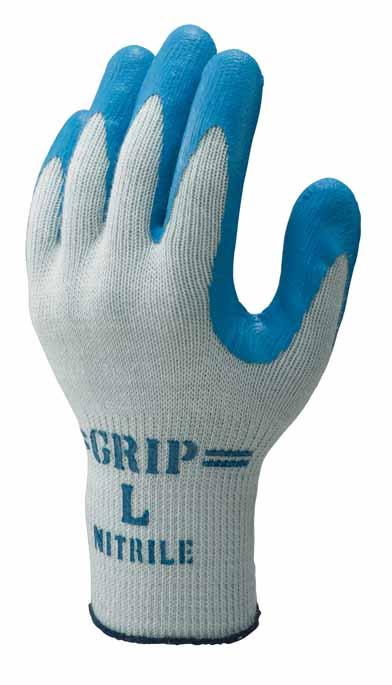 360 強力グリップ ブルー 120双 Lサイズ ニトリルゴム 手袋 宅送 抗菌防臭 1双個装 ショーワグローブ 耐油 ショーワ 贈答 スベリ止め