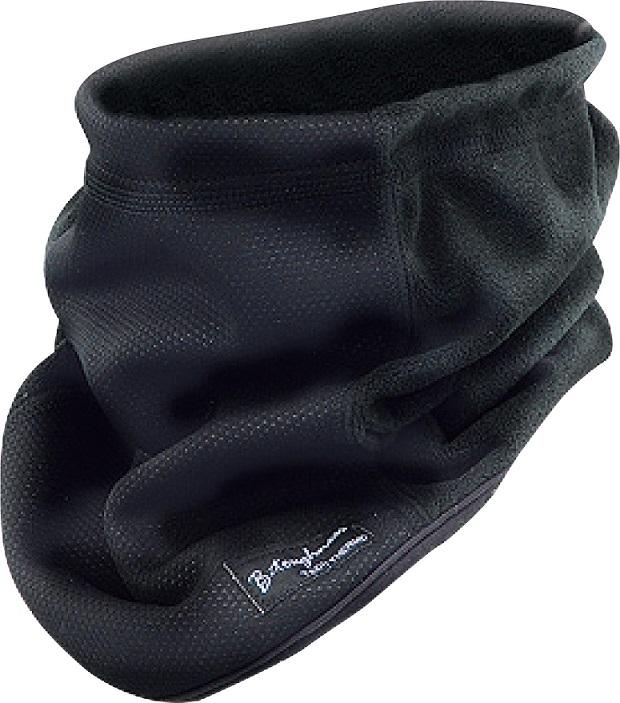 防風 保温 いよいよ人気ブランド 超目玉 発熱サーモ ネックウォーマー JW-124 おたふく ブラック