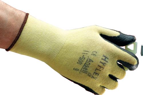 耐切創手袋 11-500 アンセル ハイフレックスCR 144双 LLサイズ