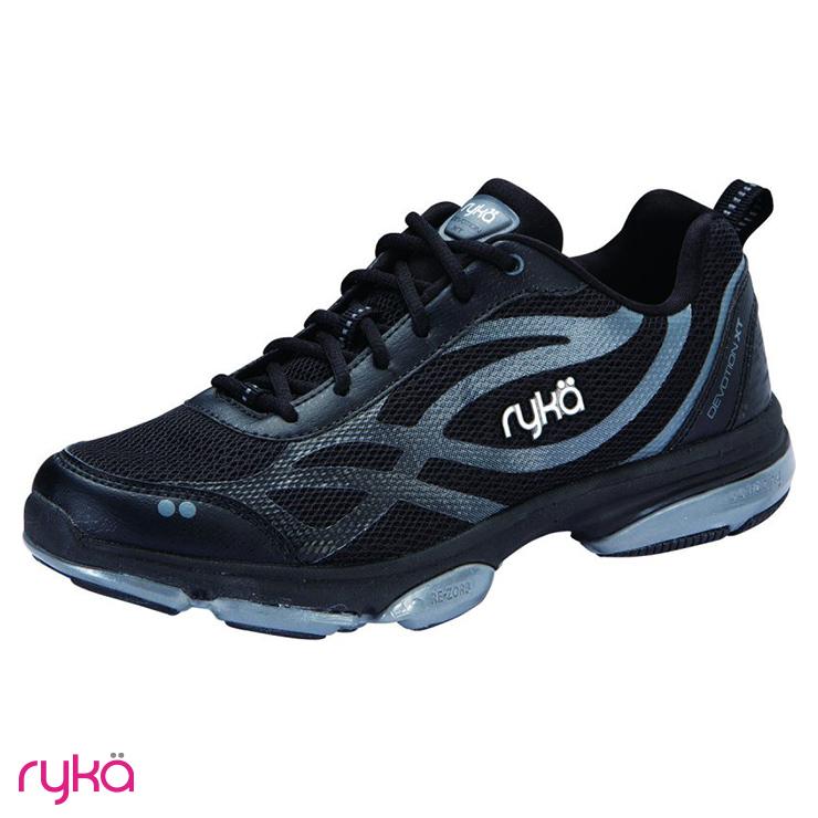 フィットネスシューズ 返品送料無料 ダンスシューズ RY-F0180M-1001 ryka ライカ XT BLACK DEVOTION ダンスエクササイズシューズ 並行輸入品