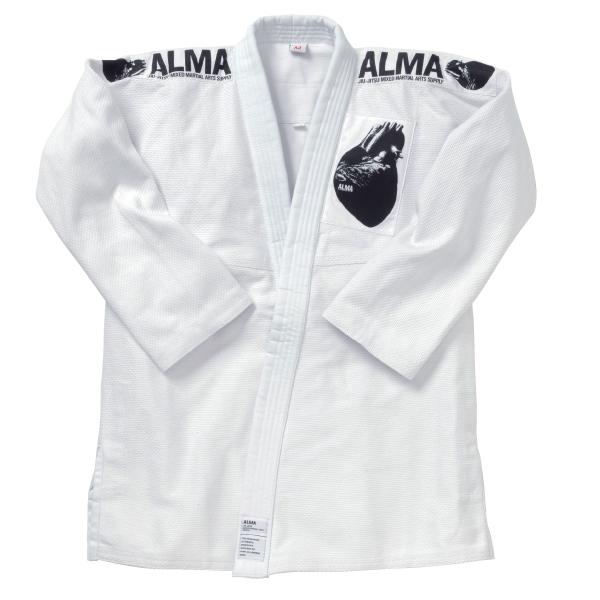 ALMA 海外製柔術着(白帯付き) A0号~A2号 白【strongsports】