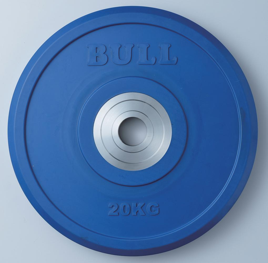 BULL バンパープレート 20kg【格闘技 空手 筋トレ 器具 トレーニング フィットネス strongsports】
