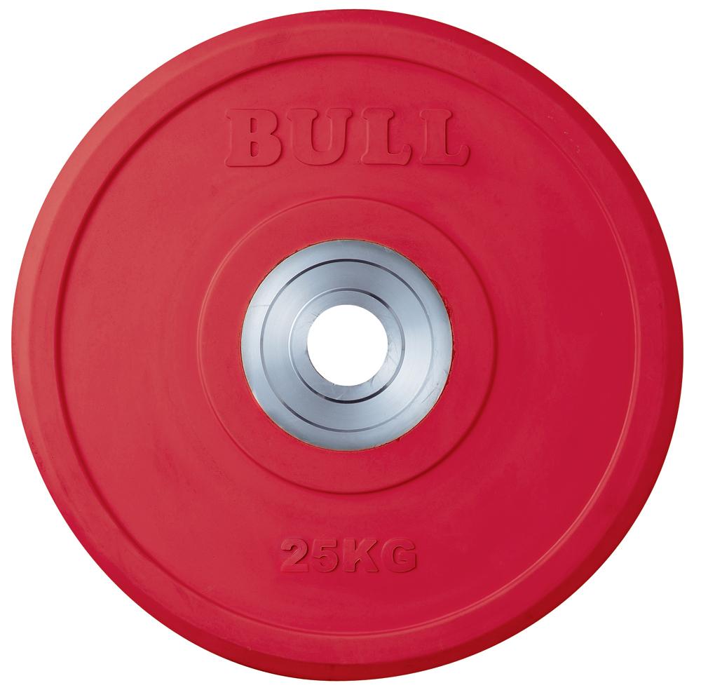 BULL バンパープレート 25kg【格闘技 空手 筋トレ 器具 トレーニング フィットネス strongsports】
