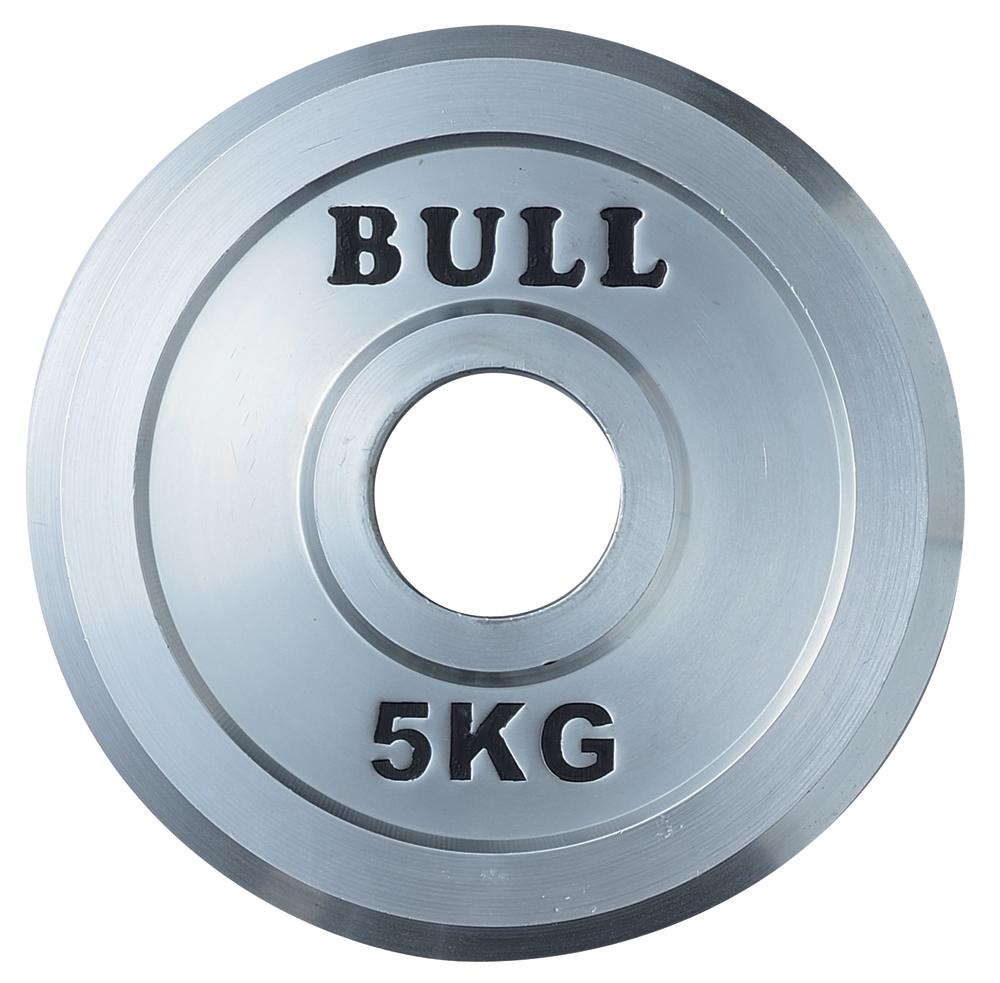 BULL バンパープレート 5kg【格闘技 空手 筋トレ 器具 トレーニング フィットネス strongsports】