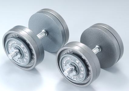 アイアンダンベルセット50kg【マーシャルワールド製 格闘技 空手 筋トレ 器具トレーニング フィットネス】【strongsports】