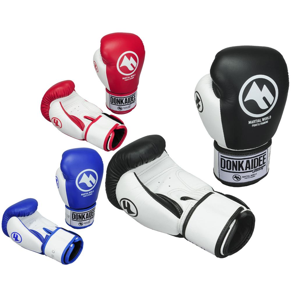 DONKAIDEE ドークカイディー ベロクロタイプ マーシャルワールド製 ボクシング グローブ 格闘技 空手 strongsports