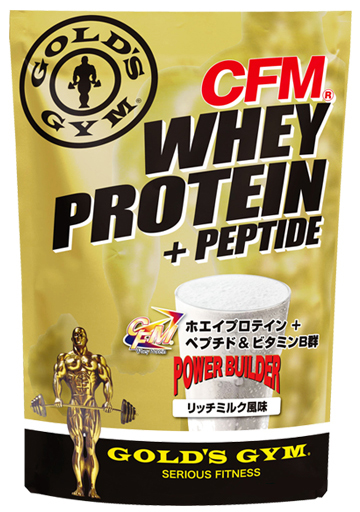 【送料無料】GOLD'S GYM(ゴールドジム)ホエイプロテイン リッチミルクフレーバー 2kg【strongsports】