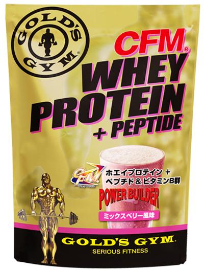 プロテイン GOLD'S GYM(ゴールドジム)ホエイプロテイン ミックスベリー風味 2kg【送料無料】【strongsports】