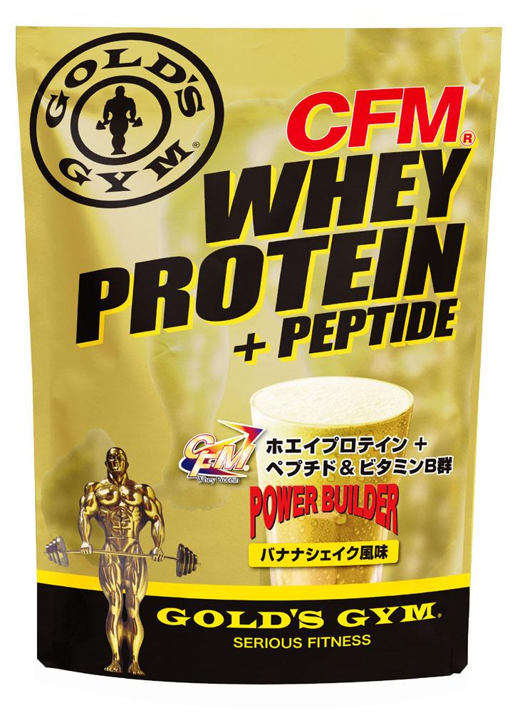 【送料無料】GOLD'S GYM(ゴールドジム)ホエイプロテイン バナナシェイク風味 2kg プロテイン プロティン strongsports