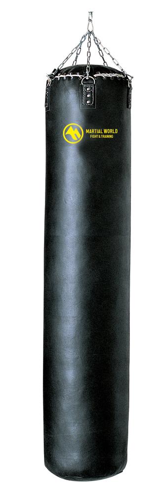 高級本革トレーニングバッグ 170cm マーシャルワールド製 格闘技 用品 空手 筋トレ 器具 フィットネス【代引き不可】【strongsports】