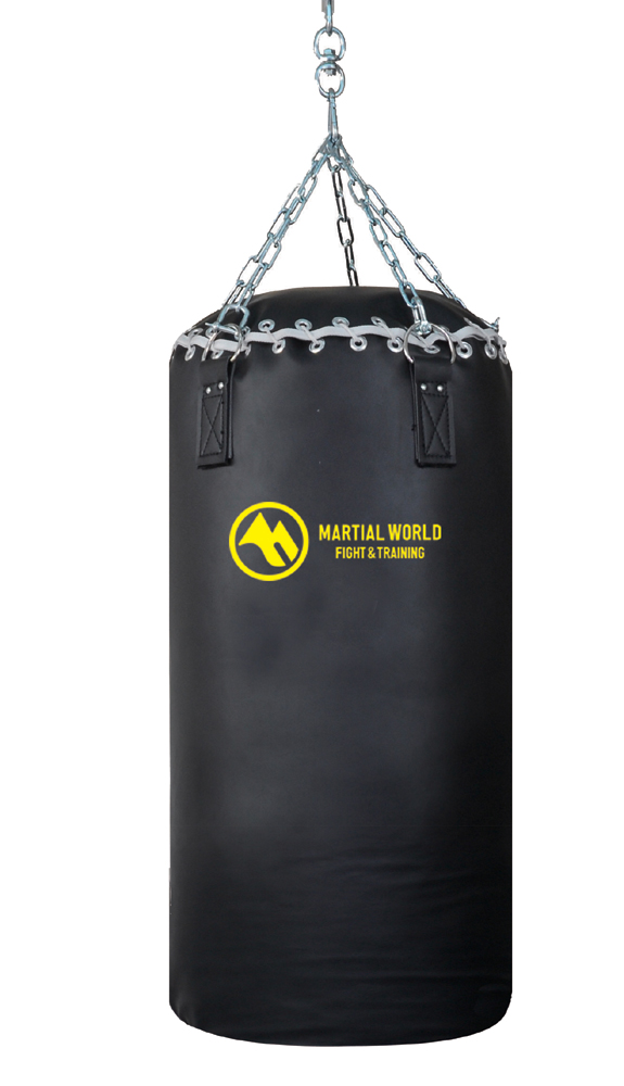 ベルエーストレーニングバッグ 100cm マーシャルワールド製 格闘技 用品 空手 筋トレ 器具 フィットネス strongsports