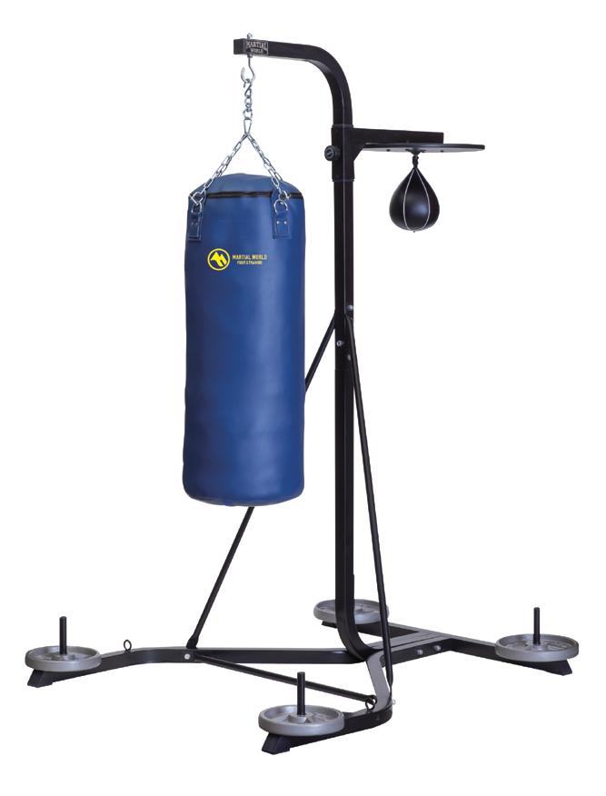 トレーニングバッグスタンド マーシャルワールド製 格闘技 用品 空手 筋トレ 器具 フィットネス 【strongsports】