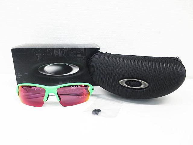 OAKLEY オークリー OO9271-13 サングラス FLAK 2.0 グリーン系 【中古】ゴルフウェア メンズ