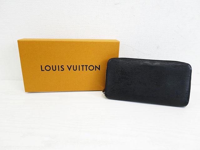 LOUIS VUITTON ルイ ヴィトン M60072 CA3160 2010年製造 エピ ジッピーウォレット ブラック系 【中古】メンズ
