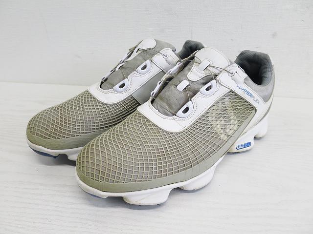 FOOT JOY フットジョイ ゴルフシューズ boa グレー系 26cm 【中古】ゴルフウェア メンズ