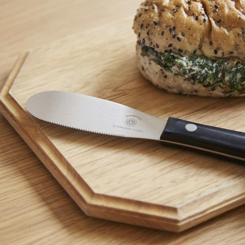 刃がしなるから 物品 国産品 これ1本で切る 塗る スパチュラーナイフ くり抜くが完結