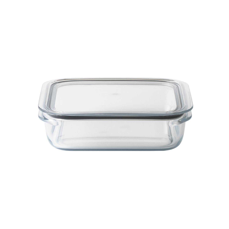 スピード対応 全国送料無料 ガラスとプラスチックのいいとこどり保存容器 Like-it 時間指定不可 調理ができる保存容器 クリア 単品 L