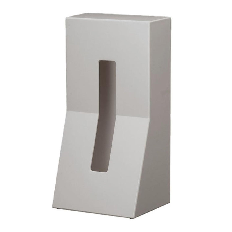 大人気! 縦置きで使いやすいティッシュケース DUENDE STAND ライトグレー ABS セール価格