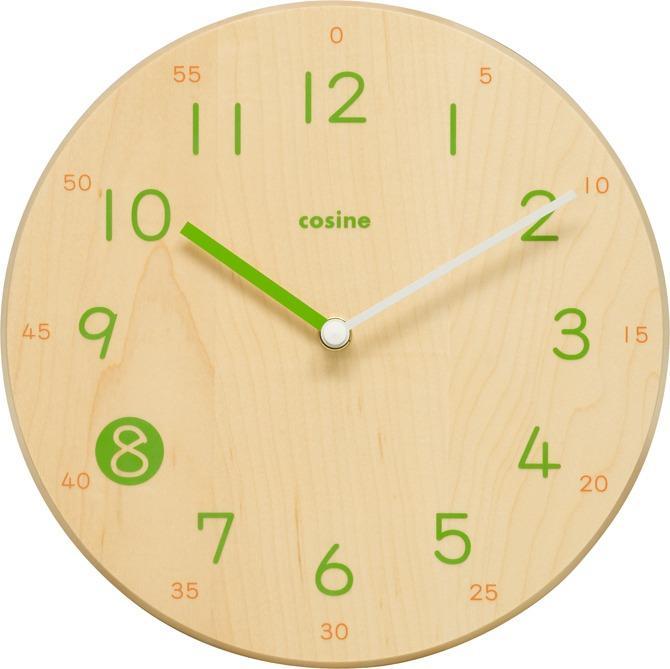 子どもが読みやすい時計を追求して生まれた時計 cosine/子ども時計