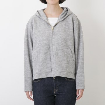 WESTWOOD OUTFITTERS/トリックフードパーカー グレー S【あす楽対応】
