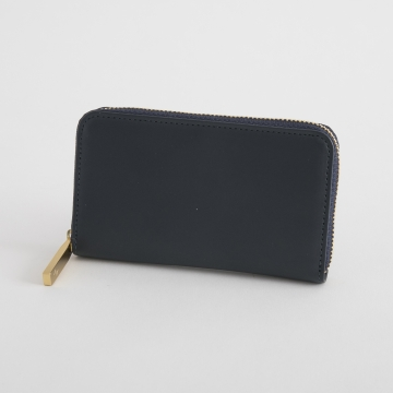 THE PITH/MINI ROUND-ZIP WALLET ブラック【あす楽対応】