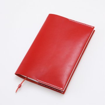 KAKURA/A5 LEATHER NOTE COVER レッド 母の日 ギフト プレゼント  その他【あす楽対応】