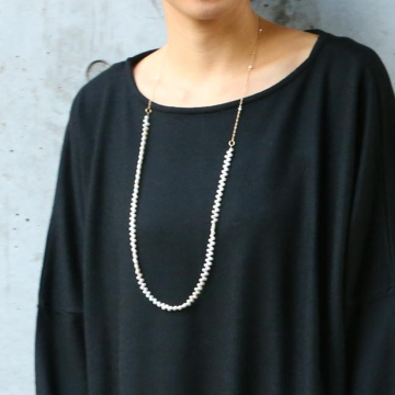 misa/two way frill pearl necklaceネックレス・ペンダント【あす楽対応】