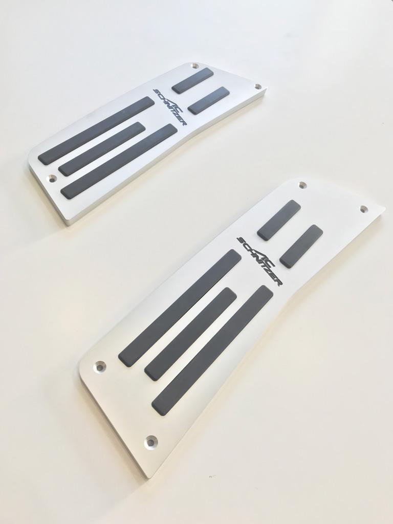 AC SCHNITZER BMW フットレスト Type2 G01 X3/02 X4 右ハンドル