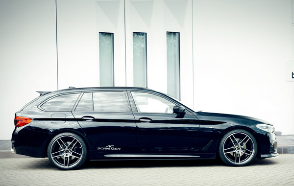 AC SCHNITZERローダウンスプリング For BMW G31540i x-Drive リアエアサス車