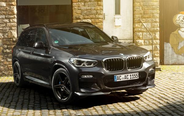 AC SCHNITZERフロントフリッパーFor BMW G01 X3 M-SPORT