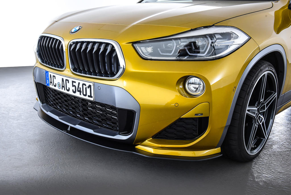 AC SCHNITZERフロントリップスポイラー + ダクトカバー セットFor BMW F39 X2 M-SPORT